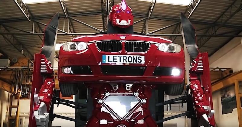 Турски инженери създадоха истински трансформър от BMW